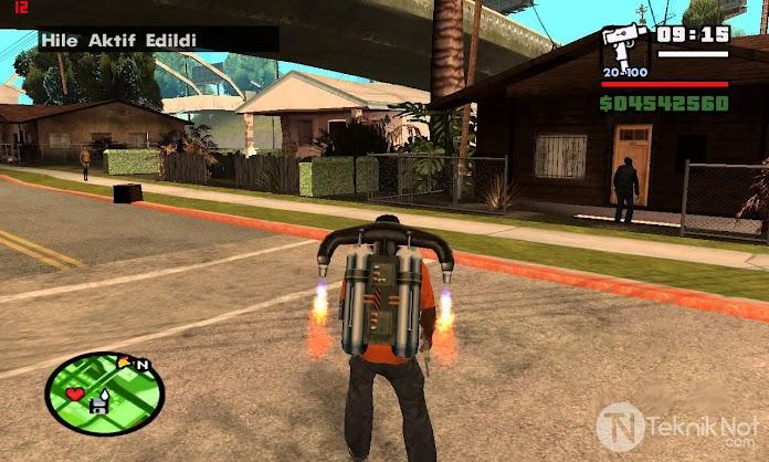 GTA San Andreas Şifreleri