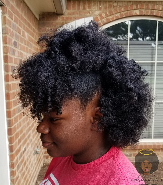 1bn Kids Big Sister Natural S Half Up Half Down Natural Hairstyle
