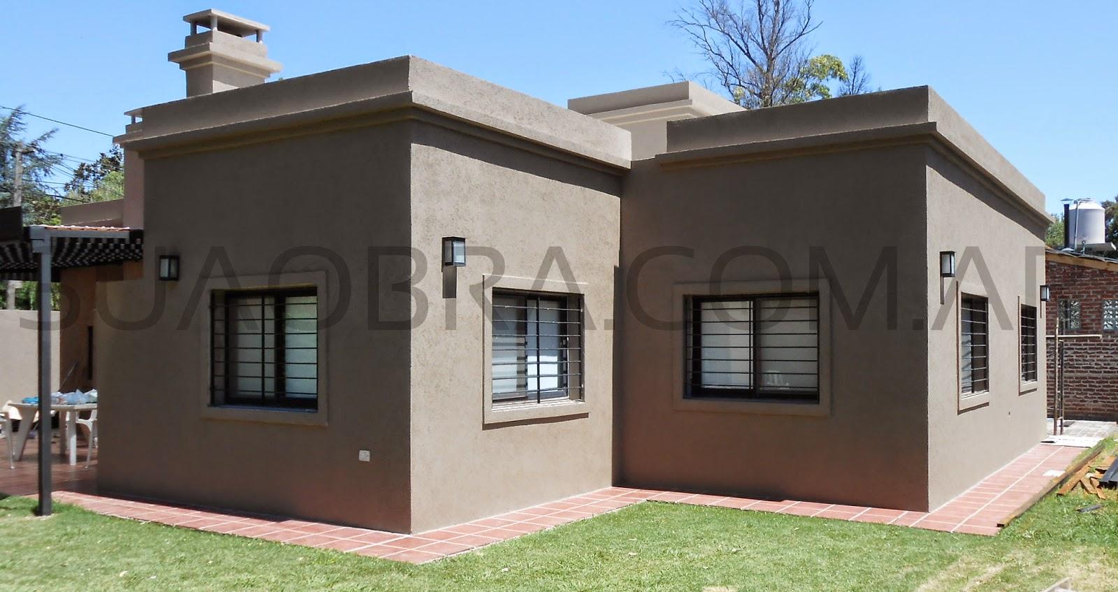 Aplicacion de revestimiento plastico para paredes exteriores tipo tarquini color zona norte - Revestimiento para exterior ...