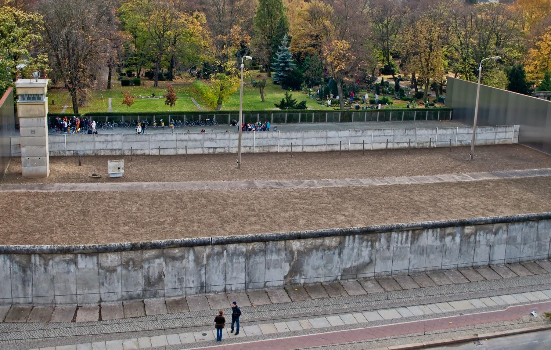 Franja de la Muerte, Berlin Wall