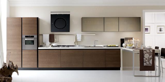Cocinas lineales para gustos exigentes  Cocinas con estilo