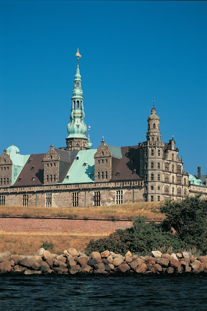 Castelo de Kronborg, Dinamarca - declarado Patrimônio da Humanidade pela UNESCO