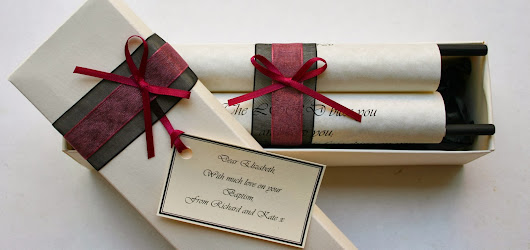 Personalised scrolls with photos