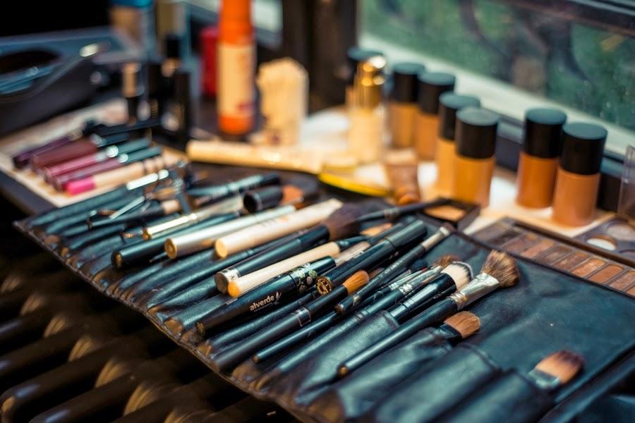 makeup pinsel visagist