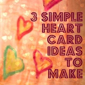 valentine heart card ideas