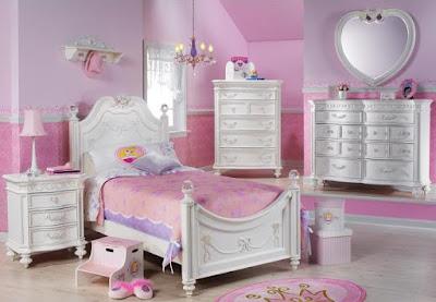 ห้องนอนเด็กหญิง