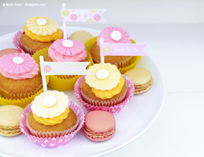 A Pink And Yellow Bridal Shower With Free Party Printables