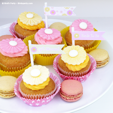 A Pink and Yellow Bridal Shower with Free Printables