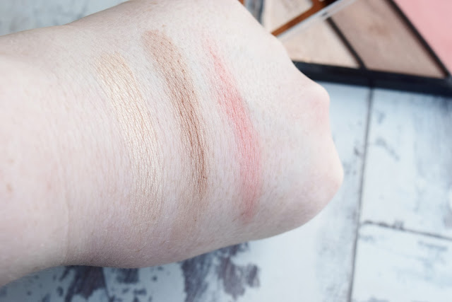 Rimmel Kate Sculpting Palette 002 Swatches