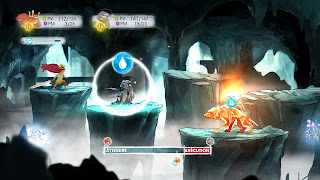 Child of Light combat tour par tour