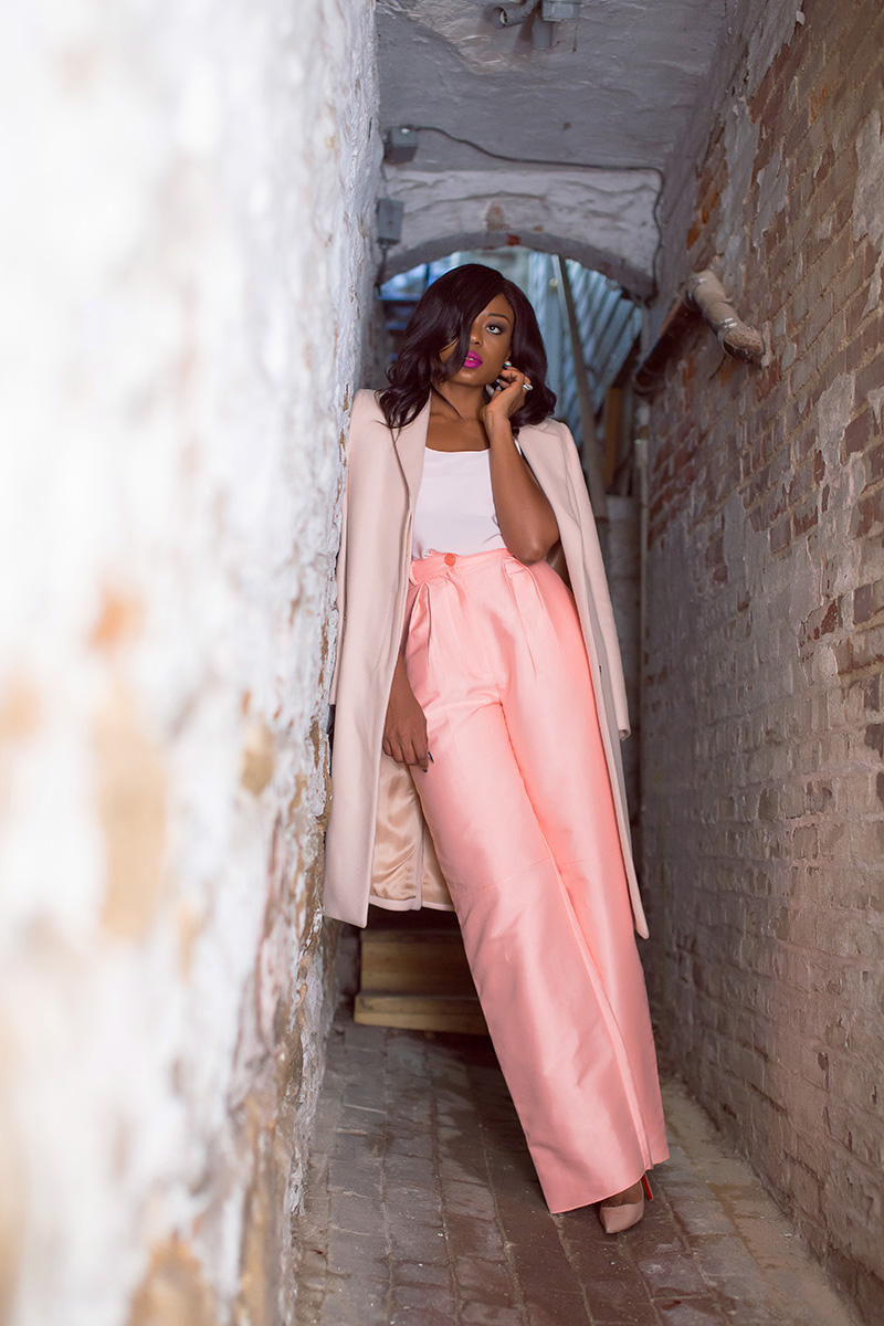 Stella eneanya, Solace london, wide leg trouser, www.jadore-fashion.com