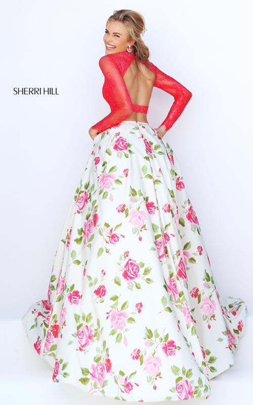 0b7a27ef031 Evermiss Beauty Sherri Hill Two Piece 2016 Prom Dresses