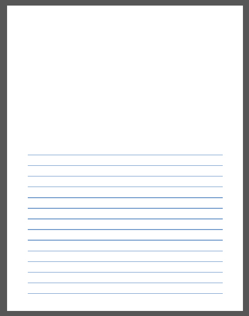 Printable writing paper with lines and picture box Research paper - lined writing paper