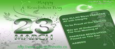 Pakistan, Lahore, History, Pakistan Resolution Day, Pakistan Islamic Republic Day, 23 March Celebration Day, Struggle for Separate Homeland:,