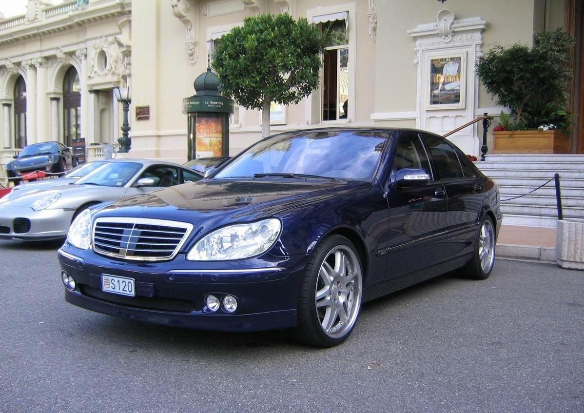 mercedes benz s class w220 brabus 4matic benztuning. Black Bedroom Furniture Sets. Home Design Ideas