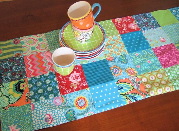 be pretty by beate patchwork tischl ufer. Black Bedroom Furniture Sets. Home Design Ideas