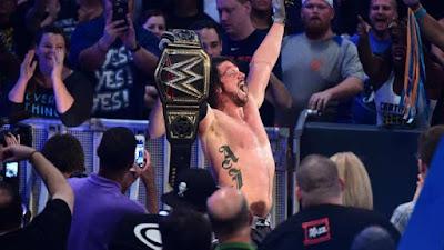 A J Styles Wrestler Photo