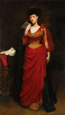William Logsdail - Portrait of a Lady