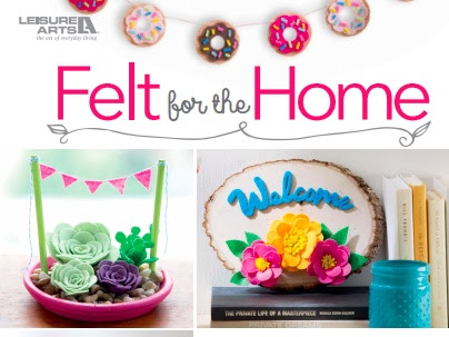 BOOK: Felt for the Home {GIVEAWAY}