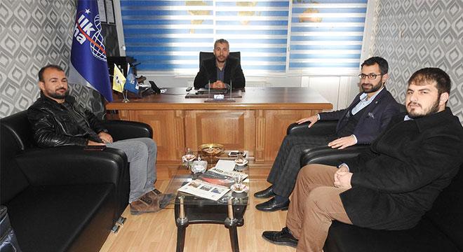 Anadolu Gençlik Derneğinden İLKHA'ya ziyaret
