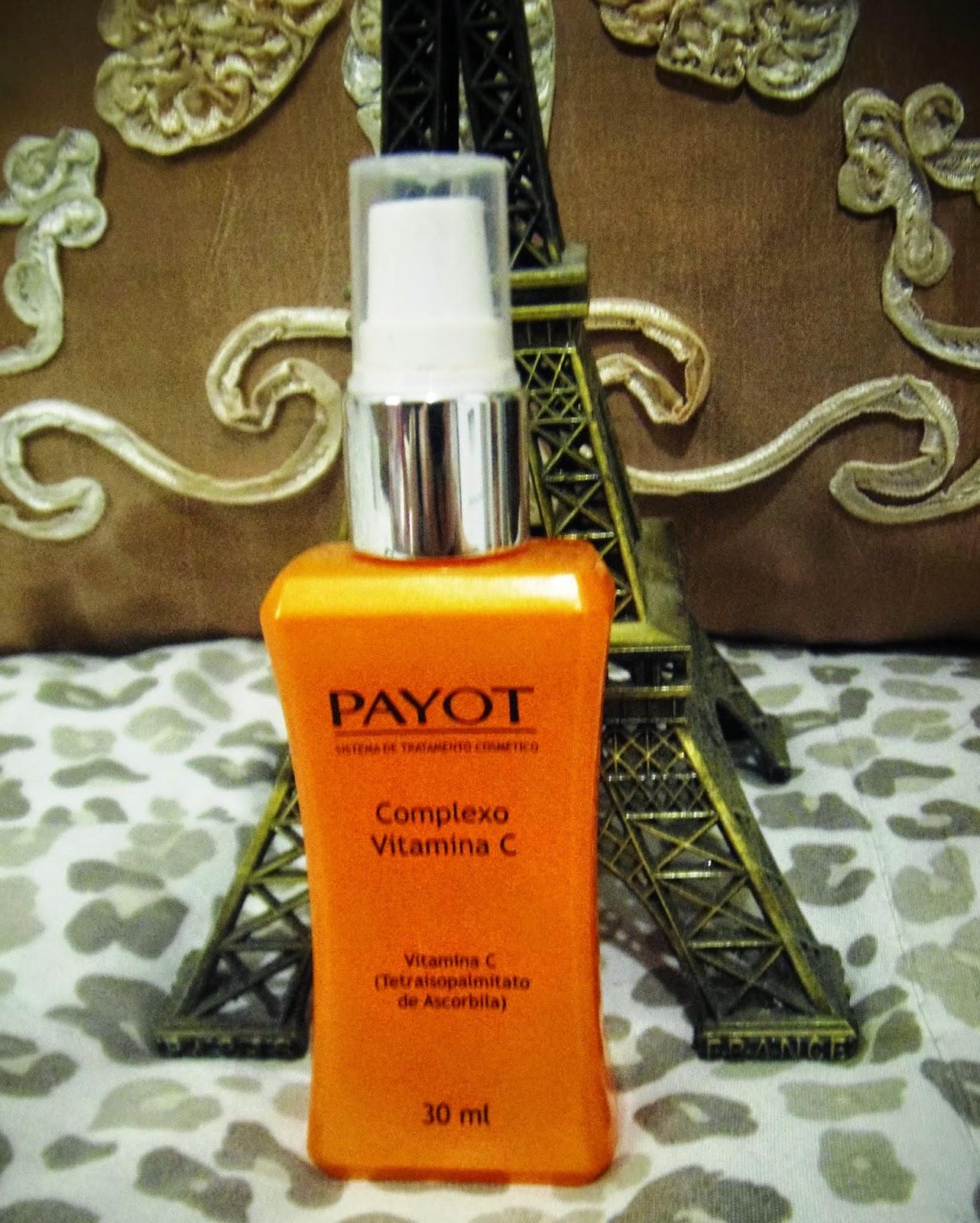 Testei!! Complexo Vitamina C da Payot