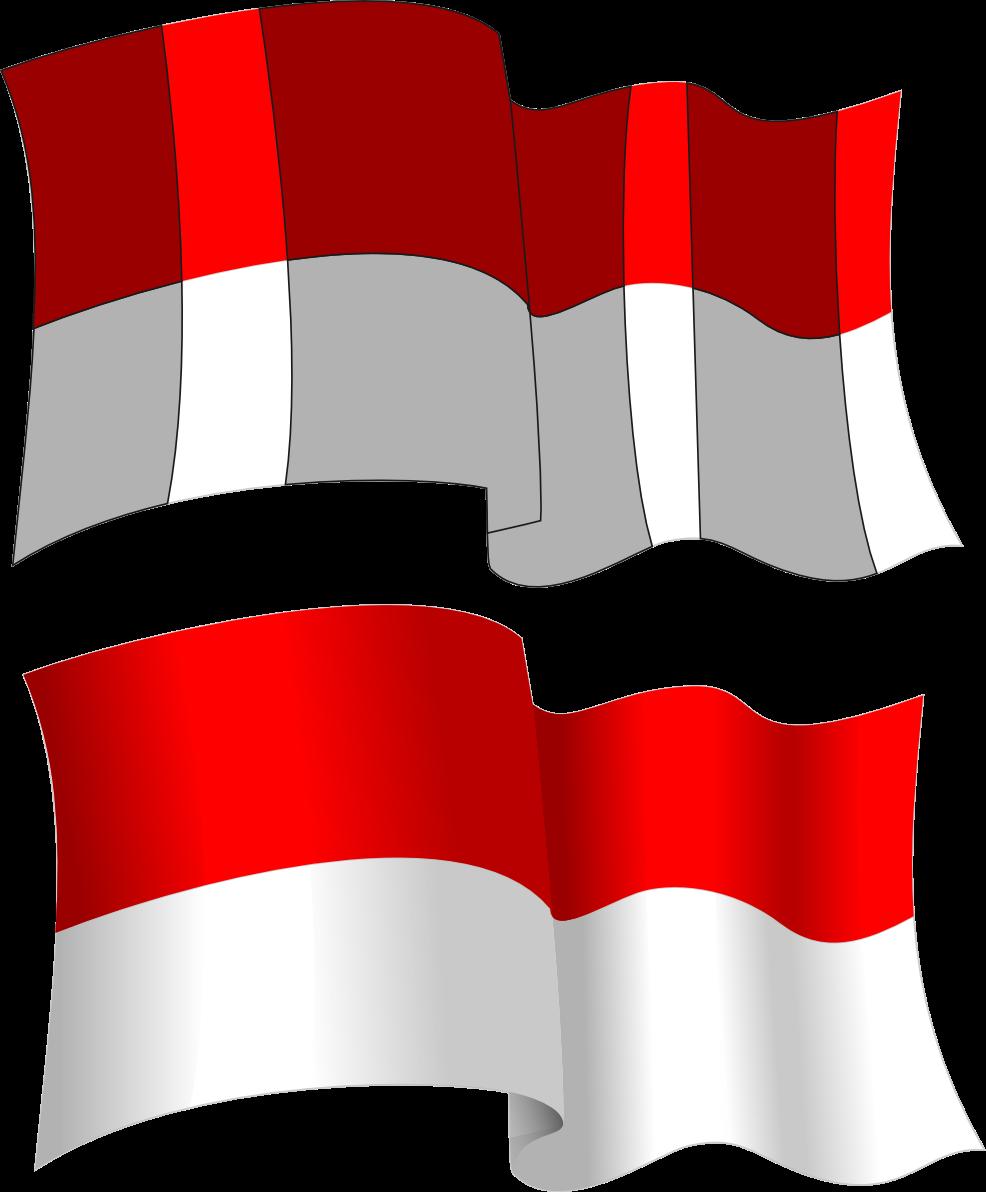 Gambar Bergerak Bendera Merah Putih Gambar V