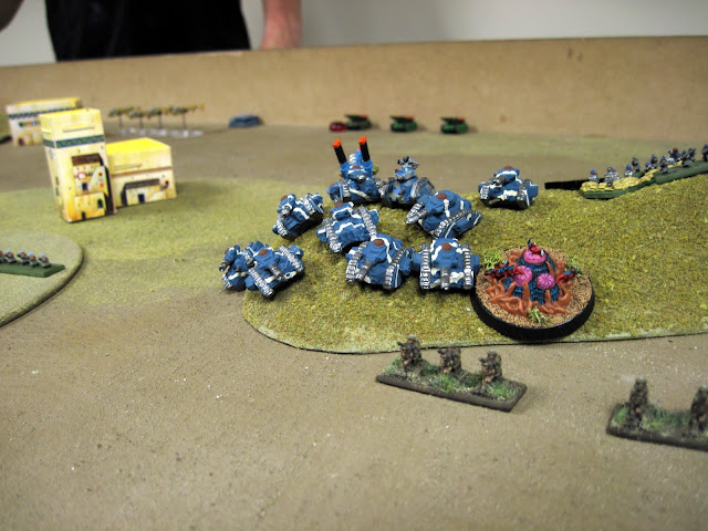 Rough Riders screen Cameron's Russes.