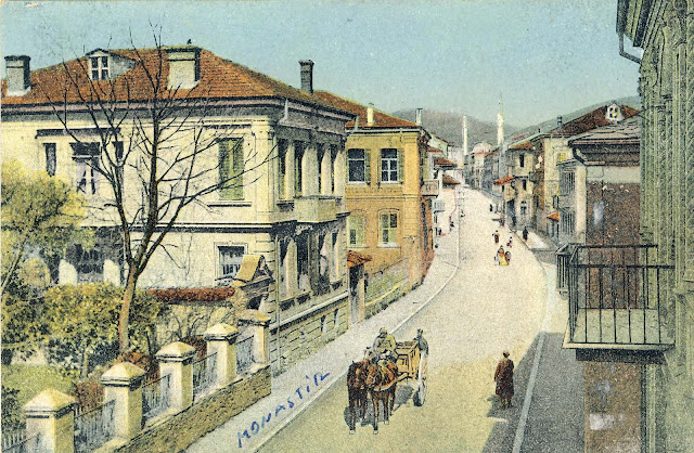 Shirok Sokak, the main street in Bitola