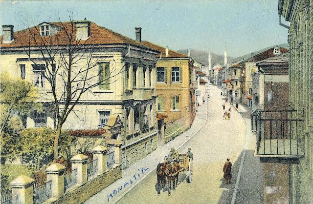 Shirok Sokak, the main street in Bitola