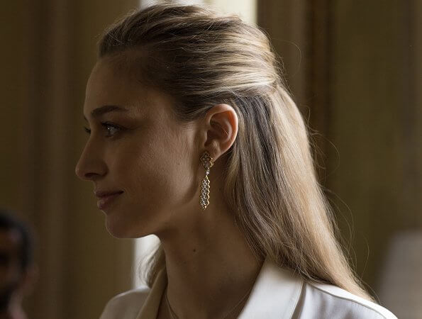 Beatrice Borromeo Casiraghi returned to fashion and became the Italian jewellery brand Buccellati's new brand ambassador
