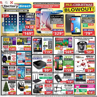 Factory Direct Weekly Flyer December 14 - 20, 2017