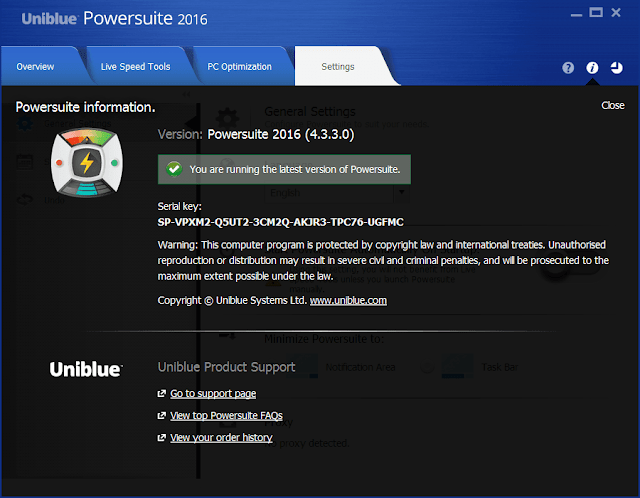 uniblue powersuite 2016 crack