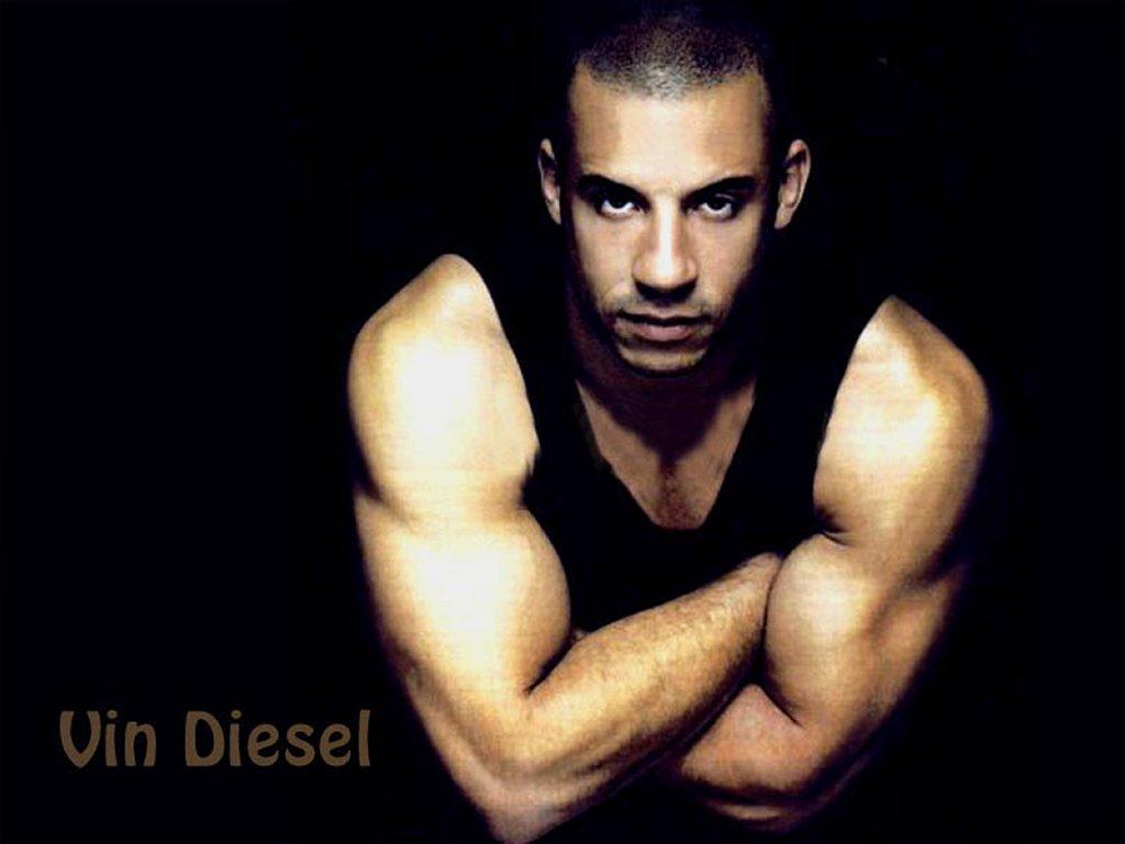 Vin Diesel with HairVin Diesel With Hair