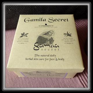 Gamila Secret - Cleansing bar, Lavender heaven verpakking