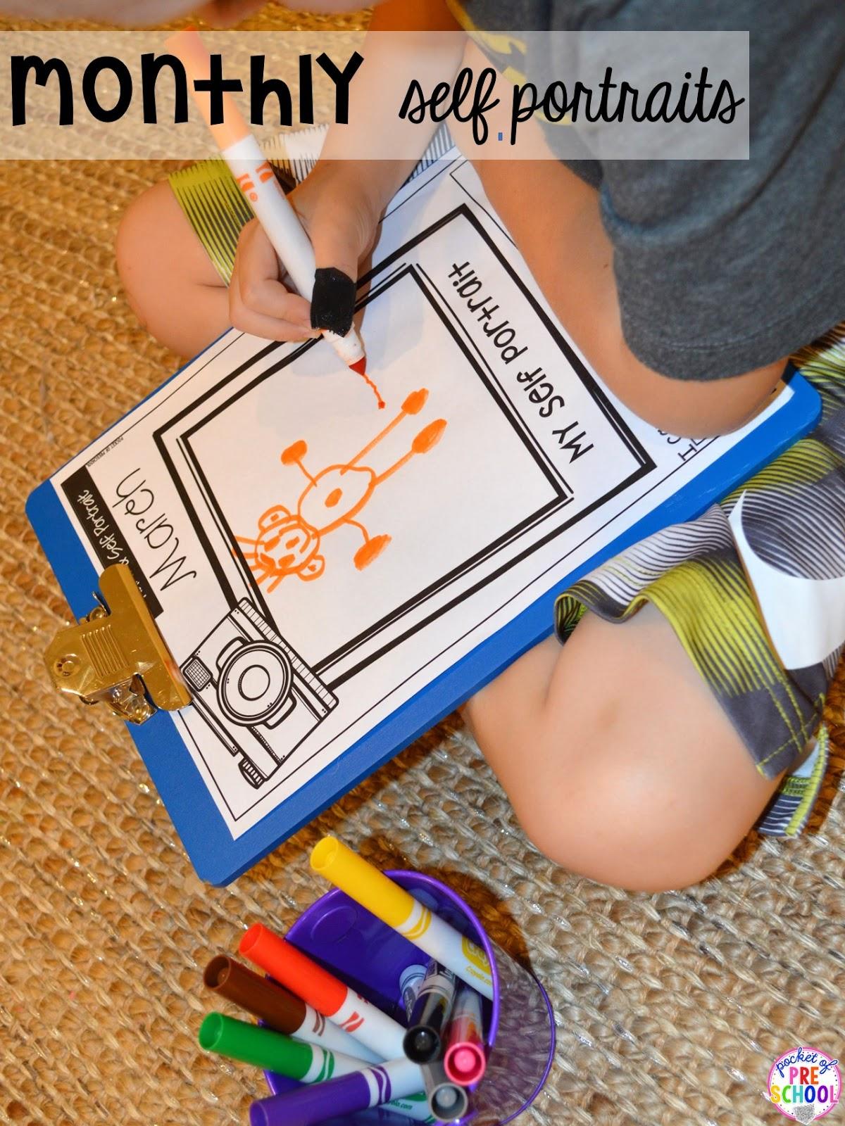 Portfolios Amp Assessments For Preschool Pre K And