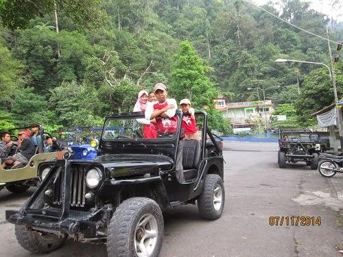 Wisata Lava Tour Lereng Merapi