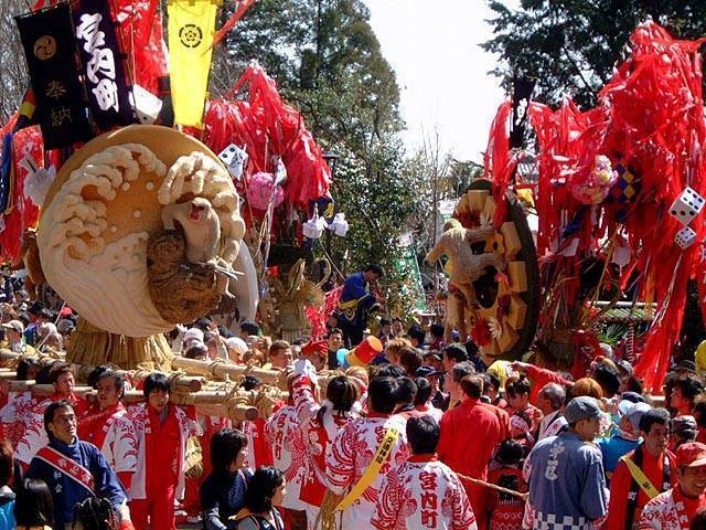 Sagicho Matsuri at Himure Hachimangu Shrine, Shiga