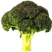 Foto de un brócoli verde
