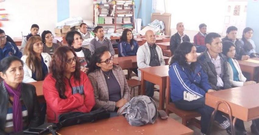 UGEL Santiago de Chuco realizó Inducción a los Acompañantes Multigrado - www.ugelsantiagodechuco.gob.pe
