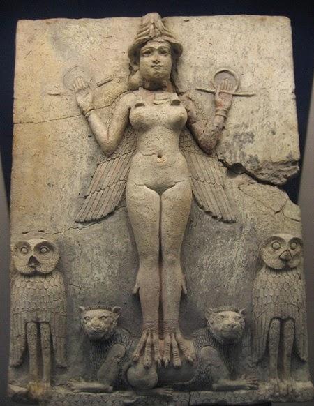 Mezopotamya tanrılarından Lilith