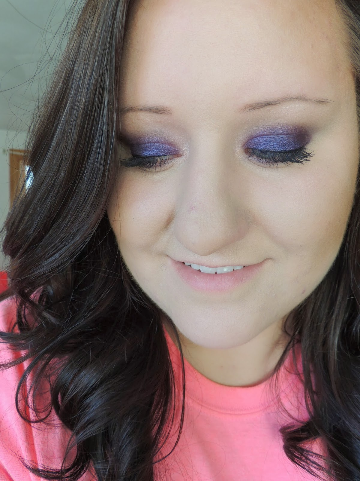 Smokey Eye Makeup: Brittany's Secret: Dark Purple Smokey Eye