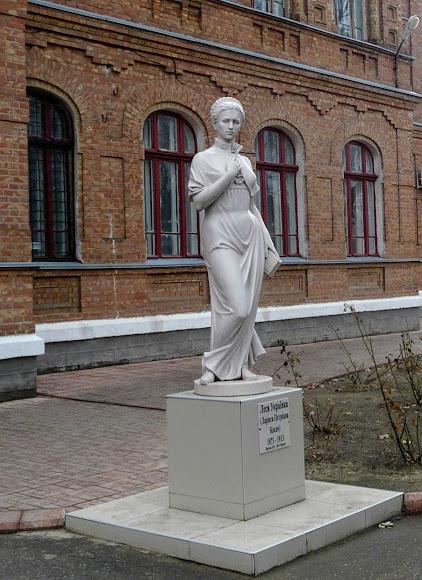 Білгород-Дністровський. Пам'ятник Лесі Українці