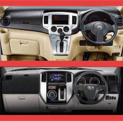 Daihatsu Luxio vs Nissan Evalia, Pilih Mana?