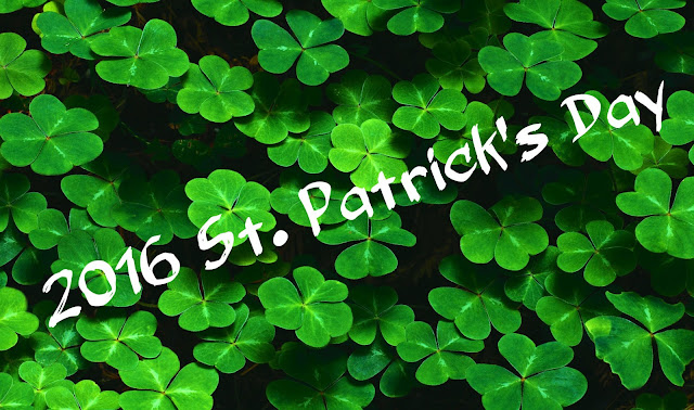 St Patrick's Day in Daylight Savings Time 2016