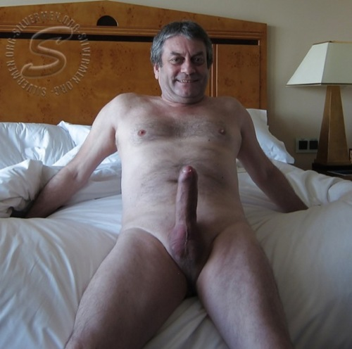 Suggest you Silver daddy cock you tell