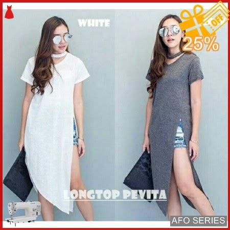 AFO391 Model Fashion Longtop Pevita Modis Murah BMGShop