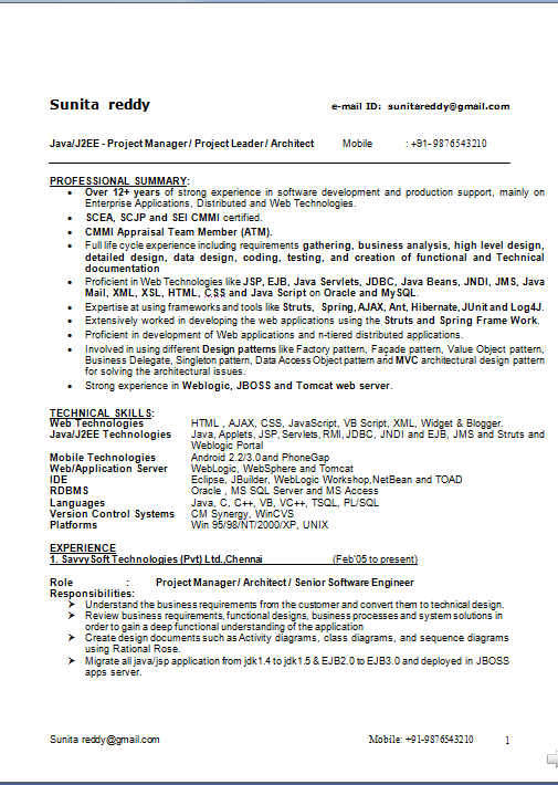 Resume For Fresh Graduate Nurse Without Experience | Resume Pdf Download