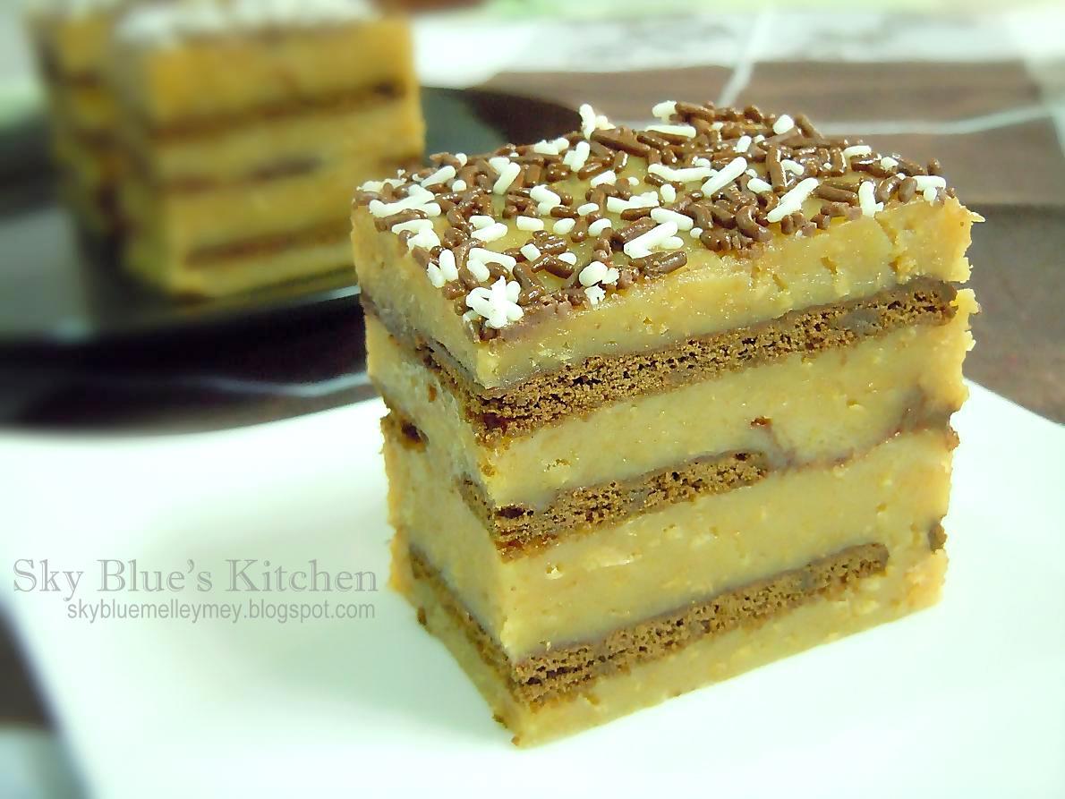 Melley Mey's Kitchen : ~ Resipi Kek Batik Horlicks...