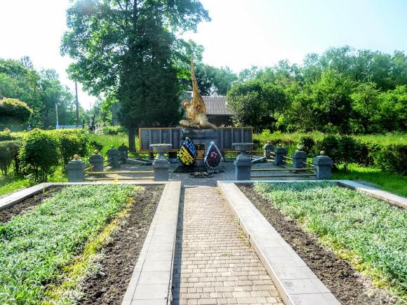Болехів. Військовий меморіал Другої світової війни