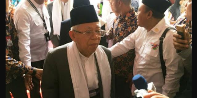 KH Ma'ruf Amin Tegaskan Agama Jangan Dipolitisasi